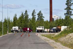 Britterna pendlar mellan Uppsala och Gävle för att sätta sten.
