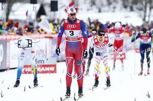 Petter Northug vann tourens andra etapp på 15 kilometer klassiskt i söndags.