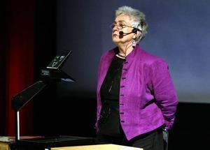 Medryckande. Stina-Clara Hjulström hade inga problem med att fängsla sina åhörare.