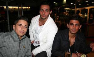Tabazco. Martin, Revan och Fernando