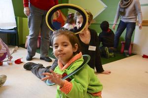 Jana Al Mousa har varit i Sverige med sin familj i fem månader.