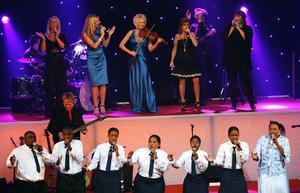 Sydafrikanska Star School Choir fick det att svänga rejält.