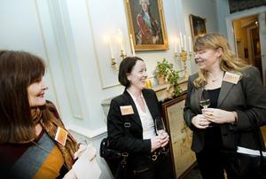 Åsa Andersson, Erikshjälpen, Cecilia Öhlén, Gavlefastigheter och Karin Bäckström, Grant Thornton, är med i det nya affärsnätverket för kvinnor.