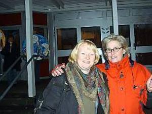 Foto: ULF GRANSTRÖM På samma sida.  Kommunalrådet i Hofors, Marie-Louise Dangardt, och Kommunals lokala ordförande Marita Pettersson är överens: vårdlönerna måste upp.