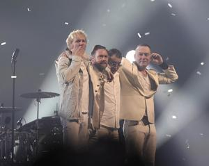 Rockgruppen Kent gör sin sista spelning i Tele2 Arena.