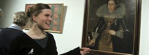 Kungligt snyggt. Cecilia Aneer berättade om den kungliga garderobens tillkomst på 1600-talet på Arboga museum i går kväll.