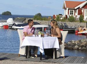 Marcus Andersson och Isabell Andrén var attraherade av varandra men några kärlekskänslor växte inte fram.