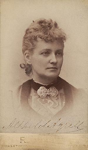 Alfhild Agrell från Härnösand var landets mest spelade dramatiker under några år på 1880-talet. För några år sedan återupptäcktes hon och hyllas som en mästare.