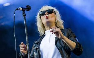 Maja i The Sounds. Foto: Claudio Bresciani / SCANPIX