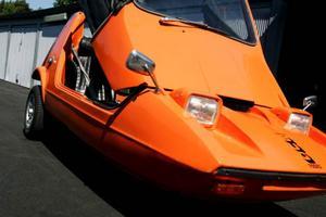 Trehjulingen Bond Bug.
