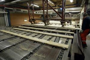 För sju år sedan lämnade de sista plankorna sågverket på Håstaholmen.