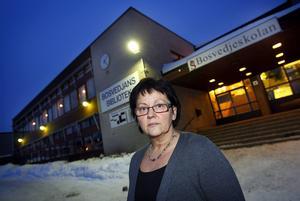 Ewa Lundmark, rektor på Bosvedjeskolan.Foto: arkiv