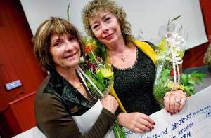 Glädjespridare: Ilona Benczédi och Ingrid Roth.Foto: Henrik Evertsson