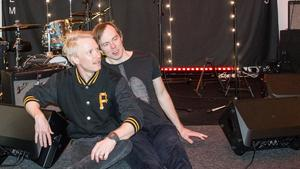 Patrik Heikinpieti och Daniel Haglund har deltagit lika mycket som alla andra på nya skivan