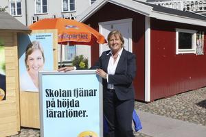 Efter valet 2014 ville inte Karin Karlsbro att Liberalerna skulle delta i ett samarbete med Socialdemokraterna i Norrtälje kommun. I dag förespråkar hon ett regeringssamarbete mellan Liberalerna och Socialdemokraterna. På söndag avgörs det om hennes parti om hennes parti vill gå samma väg.