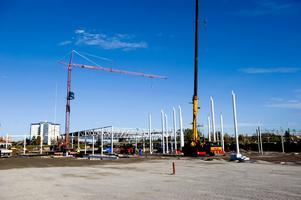Svets & Plåtarbeten i Borlänge ska vara klara med monteringen före årsskiftet. Det är företagets hittills största monteringsarbete.