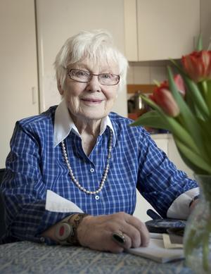 Efter ett 83 år långt liv har Ingegerd Hellqvist mycket att berätta.