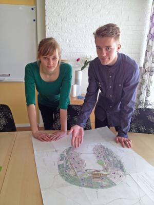 Miljö och hälsa är viktiga faktorer när Matilda Andersson, Hudiksvall, och Oskar Sjölander, Gnarp, planerar sitt Hudiksvall.