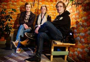 Team Neu, Petter Gisterå, Amanda Parement och Anton Sahlén tror att de blir farliga i tävlingen och hoppas förstås på att vinna 10 000 kronor.