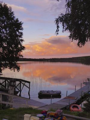 En underbar kväll i Mosjön.