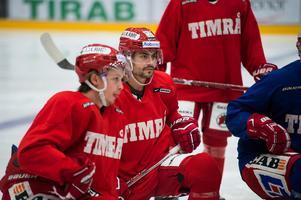 Jonathan Dahlén och Alex Lavoie är två tredjedelar av Timrås förstakedja.