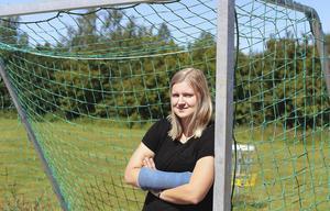 Jennifer Jonsson, mittfältare i Edsbyns IF.