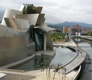 Guggenheim-museet i Bilbao.