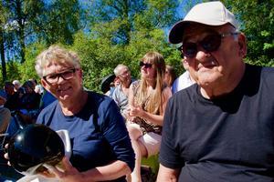 Sigfrid Lønnum Skei och Per Skei kommer till Hälsingland varje år för att gå på auktion.