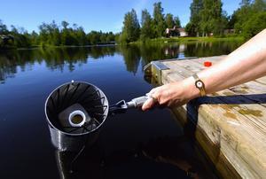 Otjänligt. Liksom förra sommaren får Tunaåstrands badvatten anmärkning vid kommunens kontroll. Foto: MATTIAS NÄÄS/Arkiv