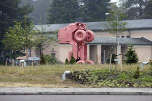 """Konstverket """"Priapos trädgård"""" av konstnären Ingo Vetter  invigdes i onsdags och har kostat 270 000 kronor."""