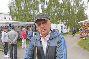 Kjell Ramén arrangerar Sollefteå marknad.