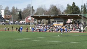Storpublik på Kramfors IP (585 personer) fick uppleva ett mållöst derby mellan Kramfors och Sollefteå.