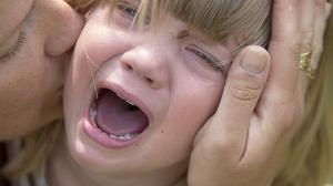 13 procent av alla tillfrågade stäör sig på skrikande barn: Foto: Maja Suslin / TT