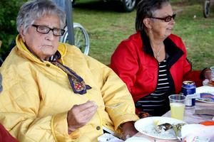 Karin Jansson tyckte sillen var fantastiskt god och var ännu mer tacksam över tillställningen i sig.