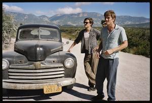 """Landskapet är skildrat med fingertoppskänsla i """"On The Road? - Walter Salles lyckas mindre bra med huvudpersonerna Sal och Dean (Sam Riley och Garrett Hedlund)."""