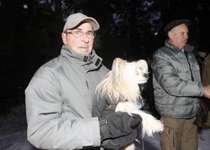 Sedan Gunnar Öberg skaffade hund har han varit flitig besökare. I år är det sjunde gången.