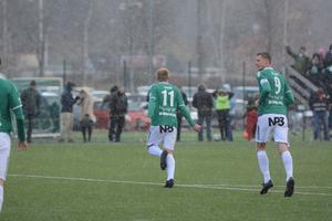 Anton Lundin gjorde 2–0.