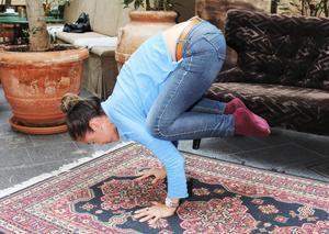 Genom yogan har Mei-li Wu blivit mer klarsynt och jordnära, säger hon. Man ser sig själv och livet på ett annat sätt.