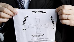 Diskussionen om ett minnesmärke över Seyfo har pågått länge. 2007 enades man om hur formuleringen skulle kunna se ut. Fotograf: Mats Andersson/lt-arkiv