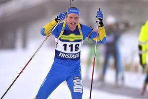 Gabriel Stegmayer, Dala-Järna, vann distanstävlingen i Sweden cup på Idre Fjäll.