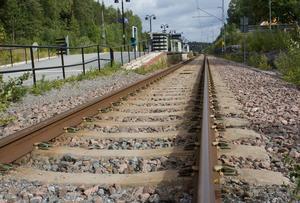 Stopp i tågtrafiken på grund av olycka mellan Töreboda och Skövde. Genrebild.