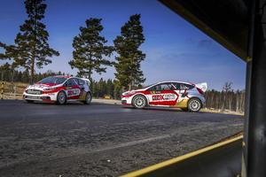 Strängnäs. Olsberg MSE testkör ofta sina bilar i Strängnäs motorstadion. I framtiden vill företaget kunna göra det i Nynäshamn.Foto: Jakub Nikita