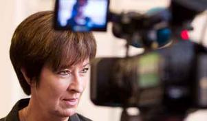 Socialdemokraternas partiledare och de rödgrönas statsministerkandidat menar att minskade klyftor får samhället att må bättre.Foto: Per Groth