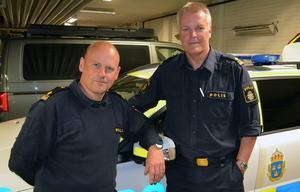 Förundersökningsledaren Patrik Sundlöf och Patrik Kvick, gruppchef IGV, jobbar dagligen med med utmaningarna att få verksamheten att flyta på.