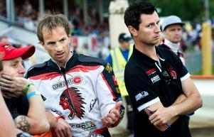 Rune Holta och lagledaren Daniel