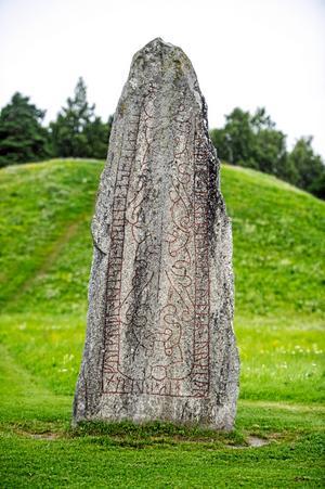 Kanske den mest kända stenen i Västmanland.