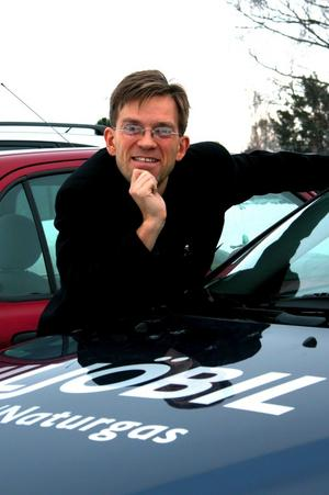 Glad över beslutet. Mattias Goldmann, föreningen Gröna Bilister, är glad över Leksands kommuns beslut att på sikt byta ut sin fordonspark mot miljöbilar. –