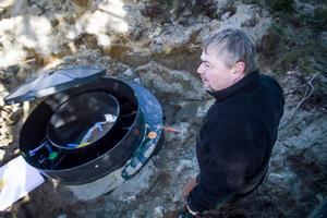 Ett minirenignsverk är miljövänligt och smidigt, säger Mikael Frisk.