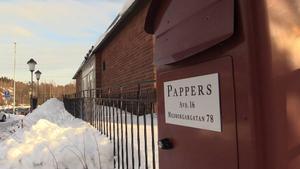 Pappersfacket på Ortvikens pappersbruk.