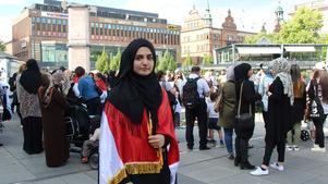 Nada Yousef drog igång Facebook-evenemanget för att samla människor att visa sitt stöd.